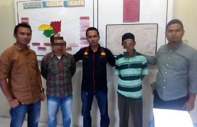 Photo of Dua Orang Warga Sungai Tutung Kerinci Ditangkap Polisi