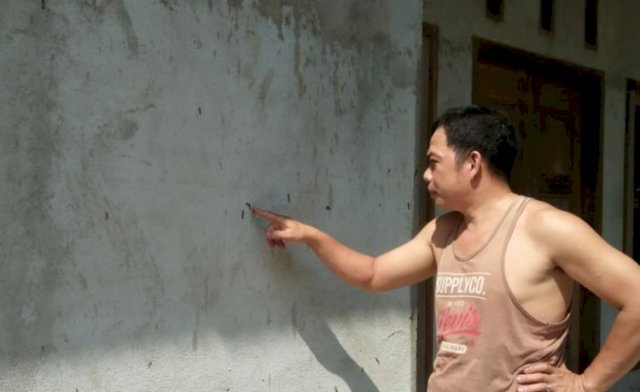 Pemukiman Warga di Bungo Diserang Hama Ulat Bulu