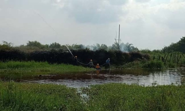 Photo of Kebakaran Lahan PT Kharisma Kemingking