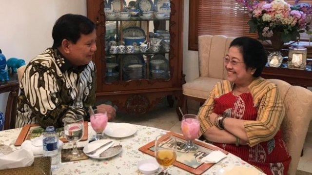 Prabowo dan Megawati bertemu