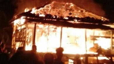 Photo of Api Lalap Motor dan Rumah Warga Sekernan