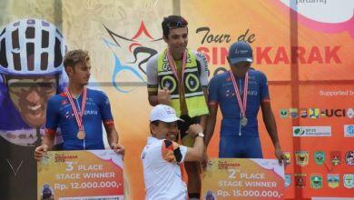 Photo of TdS Etape 7 Kerinci, Pembalap Asal Iran Raih Waktu Tercepat