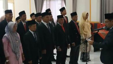 Photo of 48 Orang Panwas Kecamatan Se-Kabupaten Kerinci Dilantik