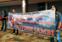 Photo of Aksi Kelompok Rakyat Peduli Hutan Tolak Bio Cf INFL di Jambi