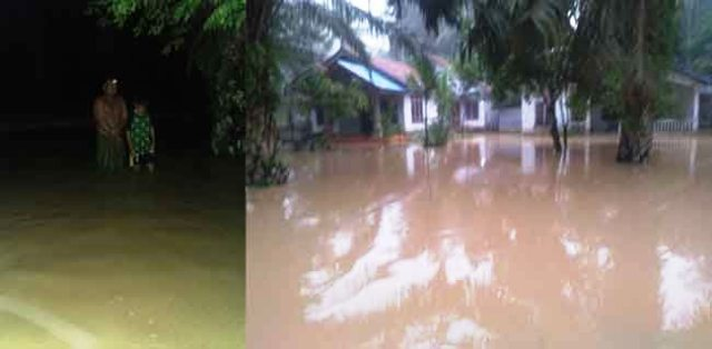 Photo of Banjir Bandang Desa Jangga Aur Muara Bulian