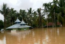 Photo of Puluhan Rumah Desa Teluk Lancang Tebo Jambi Terendam Air