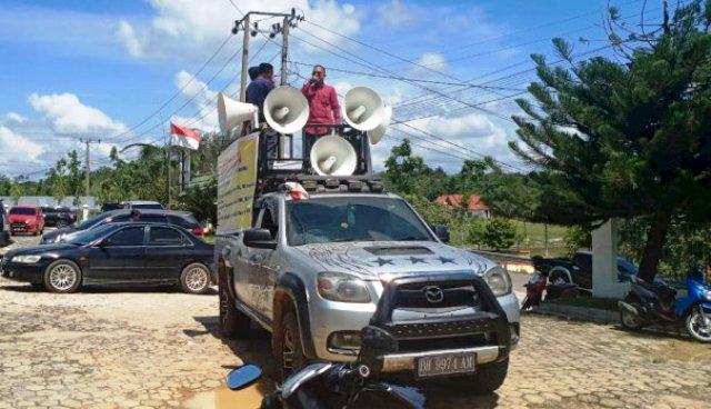 Photo of Aksi Masyarakat Sarolangun, Tuntut Inspektorat Audit Dana Desa di Batang Asai