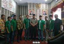 Photo of Pengurus Ansor dan PMI Silaturahmi dengan Kapolres Kerinci