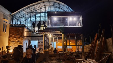 Photo of Bikin Netizen Penasaran, Gini Nih Penampakan Gedung Standart Internasional Dej Convention Hall Sungai Penuh