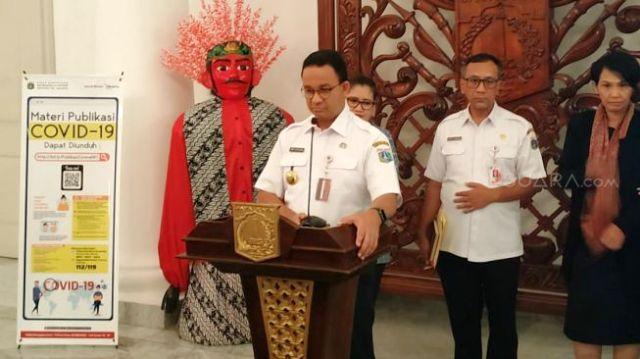 Photo of Anies Sebut Mulai Senin Semua Sekolah di Jakarta Tutup
