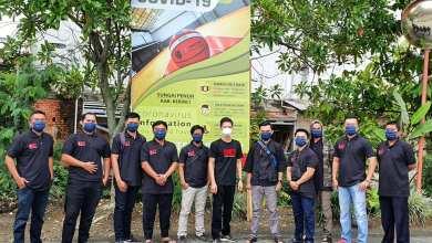 Photo of Aksi Pencegahan Covid19 DEJ Convention Hall Bagi-Bagi Masker Kepedagang Kota Sungai Penuh