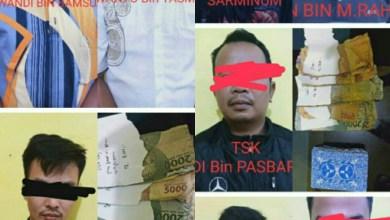 Photo of Lagi Asik Main Judi Remi, 8 Pelaku Ditangkap Satreskrim Polres Kerinci