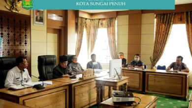 Photo of Wali Kota Teleconference Bersama Gubernur dan Bupati/Walikota se-Provinsi Jambi