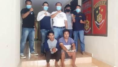 Photo of Residivis Curanmor Dikrangkeng di Hotel Prodeo Mapolsek Gunung Kerinci