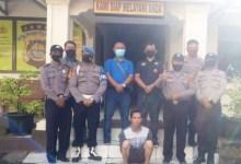 Photo of Team Walet Polsek GNK Amankan Ahmudin Pencuri Kulit Manis