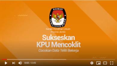 Photo of Sukseskan KPU Mencoklit