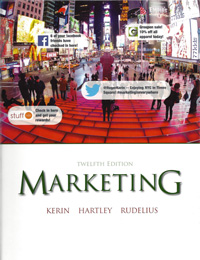 Marketing 12th Edition | Kerin, Hartley & Rudelius