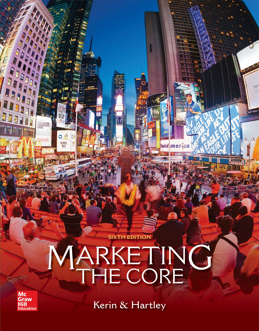 Marketing The Core 6th Edition | Kerin & Hartley