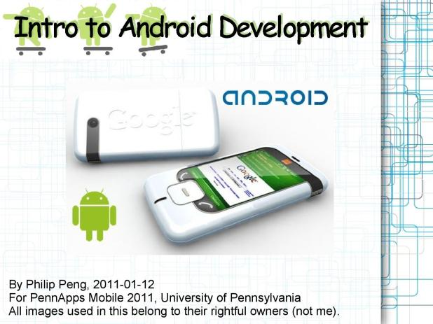 2011-01-12 Intro to Android Development 001
