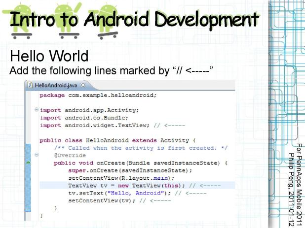 2011-01-12 Intro to Android Development 012