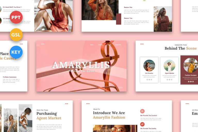 Preview image of Amaryllis – Fashion Presentation