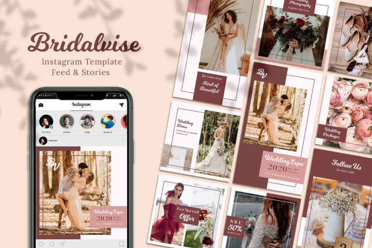 Bridalvise Instagram Templates
