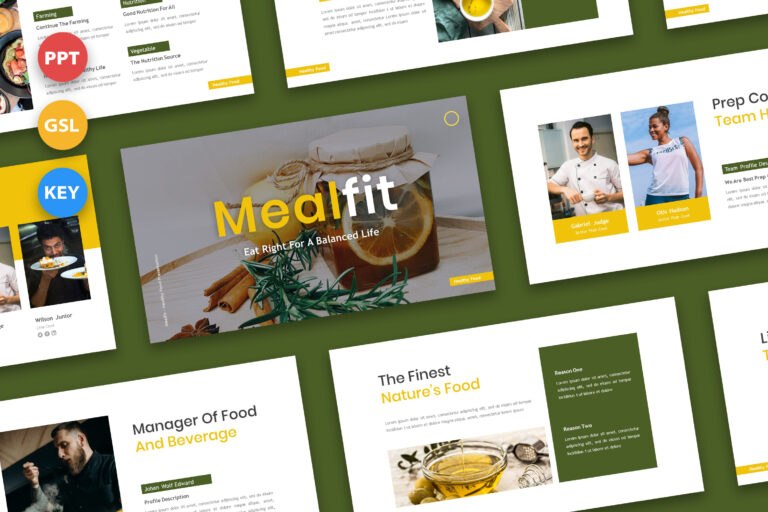 Preview image of Mealfit – Healthy Food Presentation