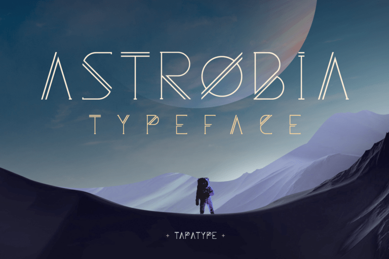 Astrobia Family Font
