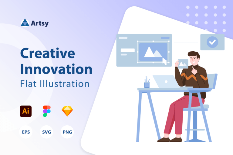Artsy - Creative Innovation Illustration