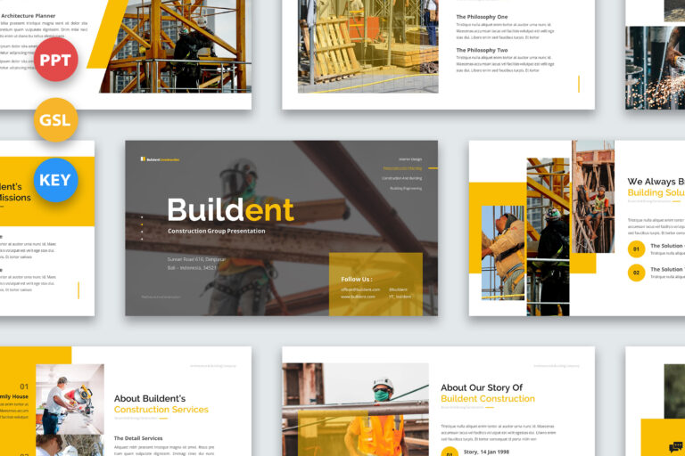 Preview image of Buildent – Construction Developers Presentations