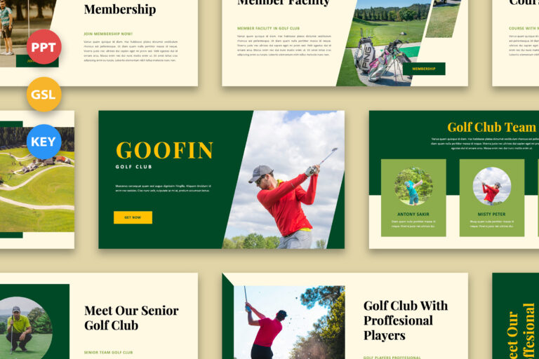 Preview image of Goofin – Golf Club Presentation