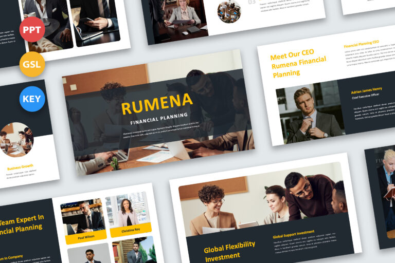 Preview image of Rumena – Financial Planning Presentations