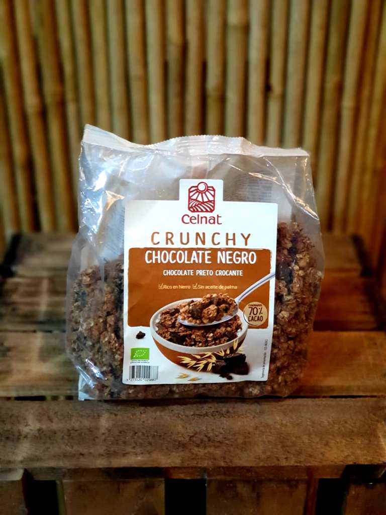 Cereales Chocolate Negro Crunchy