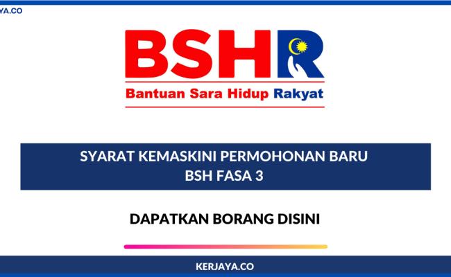 Tarikh Membuat Permohonan Rayuan Bsh Fasa 3 Bermula Pada 7 Ogos 2020 Sehingga 6 September 2020 Cute766