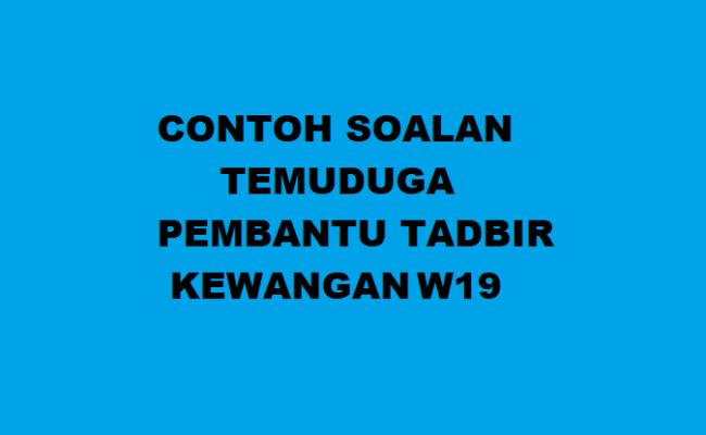 Contoh Soalan Temuduga Pembantu Penyediaan Makanan 2019 Sumber Kerjaya Cute766