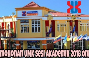 Permohonan UMK Sesi Akademik 2018 Online