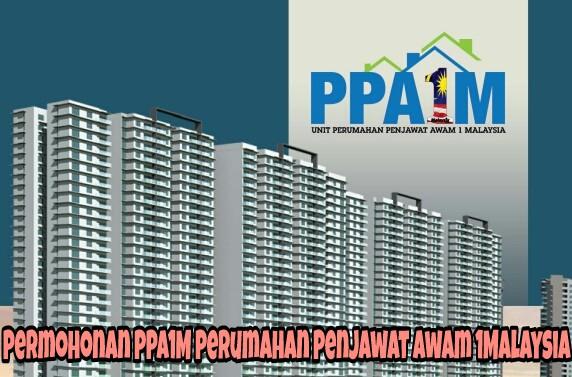 Permohonan PPA1M Perumahan Penjawat Awam 1Malaysia 2018 Online
