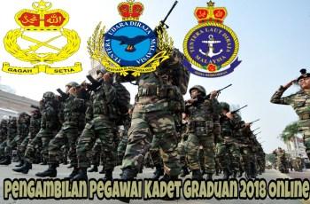 Pengambilan Pegawai Kadet Graduan 2018 Online