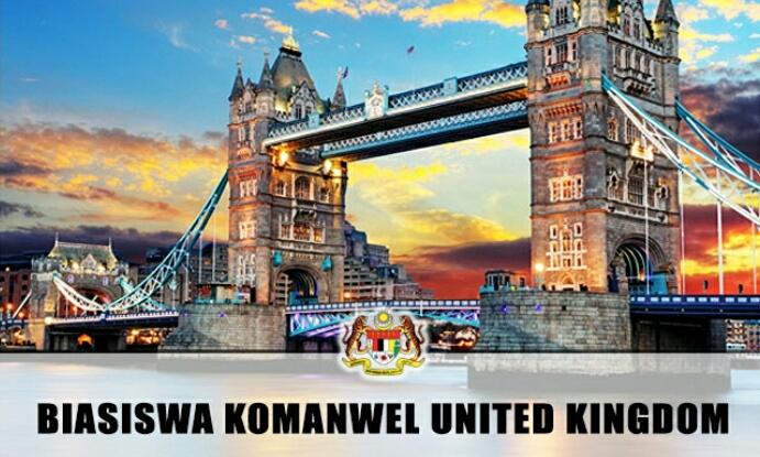 Permohonan Program Biasiswa Komanwel United Kingdom 2018
