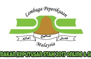 Semakan Keputusan STAM 2017 Online & SMS
