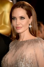 HOLLYWOOD, CA - MARCH 02: Actress Angelina Jolie attends the Oscars held at Hollywood & Highland Center on March 2, 2014 in Hollywood, California. (Photo by Frazer Harrison/Getty Images)