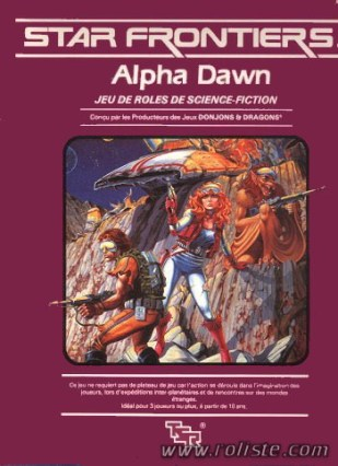 Star Frontiers Alpha Dawn