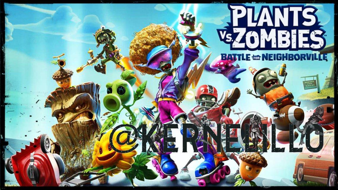 Plants vs Zombies: Batalla por Neighborville la nueva batalla