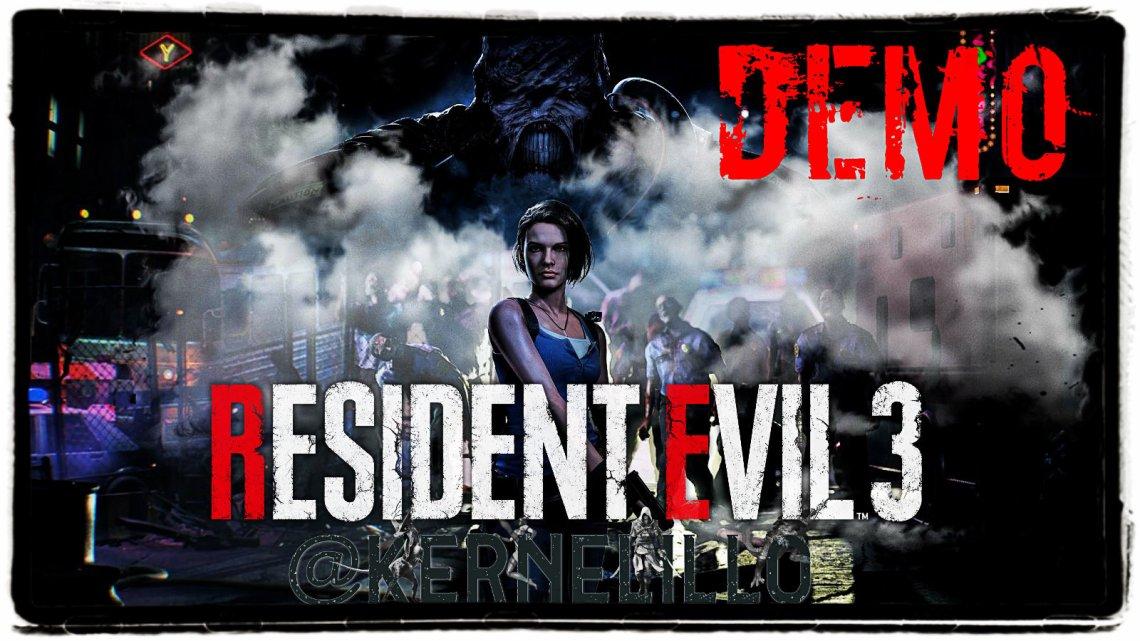 Resident Evil 3 se viene la DEMO