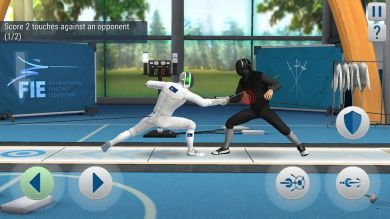 FIE Swordplay Gameplay HD Screenshot 5