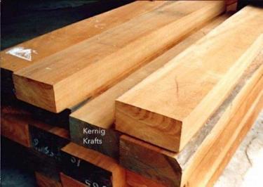 teak wood lumber timber kernig krafts