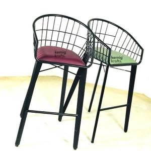 BCHM50704 Modern Upholestry Metal Bar Chair