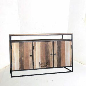 SDBA02427 Solid Wood Storage Sideboard Service Station
