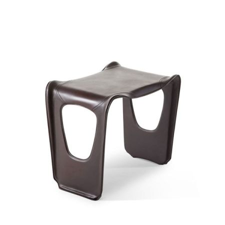 Charlotte Perriand modern furniture contemporary interior design   stackable table leather