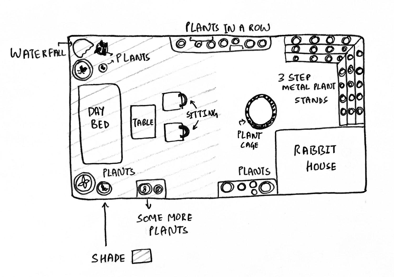 Drawing - Backyard - Patio - Shishir Agrawal - S.Ag - Furntiure - Kernig krafts.jpg